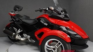 8. 2009 CAN AM SPYDER GS SM5 - National Powersports Distributors