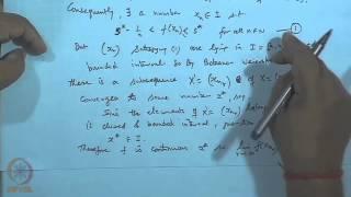 Mod-28 Lec-30 Boundedness Theorem, Max-Min Theorem And Bolzano's Theorem