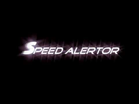 Video of SpeedAlertor speedometer