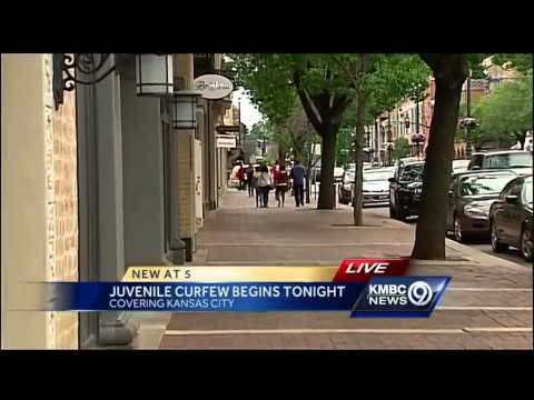 City youth curfews take effect