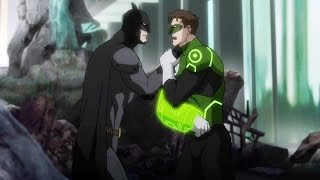 Nonton BATMAN Motivating GREEN LANTERN with Amazing Speech || Justice League War 2014 Movie || Film Subtitle Indonesia Streaming Movie Download