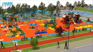 Public Park and Playground Concept Design
