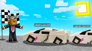 Racing With TRANSFORMERS To MARRY Steve In Crazycraft