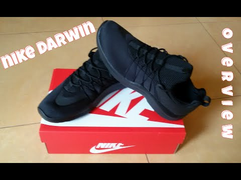 Nike Darwin - Black (Roshe Run + Air Presto) overwiew & on feet