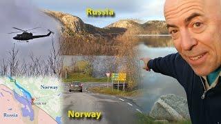Kirkenes Norway  City new picture : Visiting the Russia-Norway Border (October 2015) at Sør-Varanger/Kirkenes, Norway