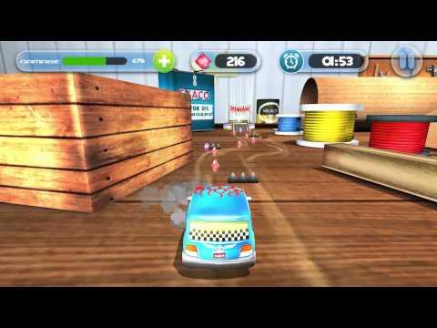 Desktop Parking (Android Game) - Red Apple