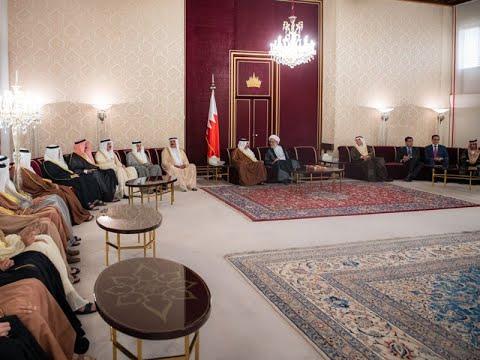 HRH Crown Prince holds Weekly Majlis