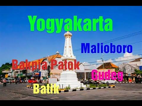Yogyakarta trip sehari semalam - Malioboro, Bakpia Patok 25 dan Gudeg Yu DJum видео