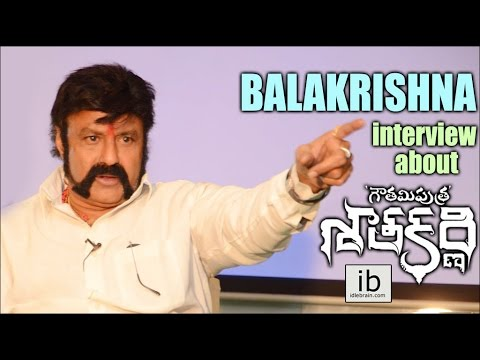 Balakrishna interview about Gautamiputra Satakarni