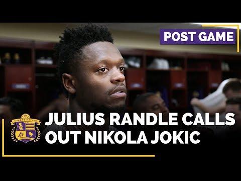 Video: Julius Randle Calls Out Nikola Jokic After Win Over Denver Nuggets