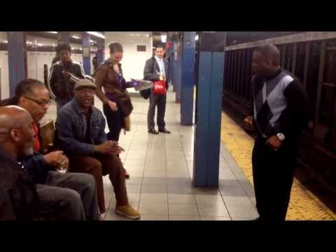 in chambers - Recorded 4-27-13 in the Chambers Street subway stop in NYC. I saw this great acapella group in NYC performing