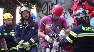 Bosch y APTB realizan una jornada práctica sobre búsqueda y rescate en estructuras colapsadas