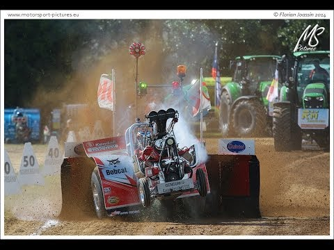 Tractorpulling - Tractor Pulling Bernay 2014 - Résumé et Onboard du championnat de France + Eurocup Mini, 2T5 Modified, Super Stock et 4T5 Modified. Production MotorSport-Pic...