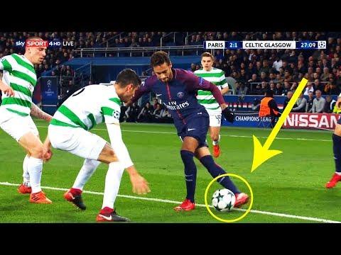 5 Amazing Skills Neymar Did in PSG - 2017/18  HD