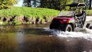 3. Polaris ranger 150 child's test !