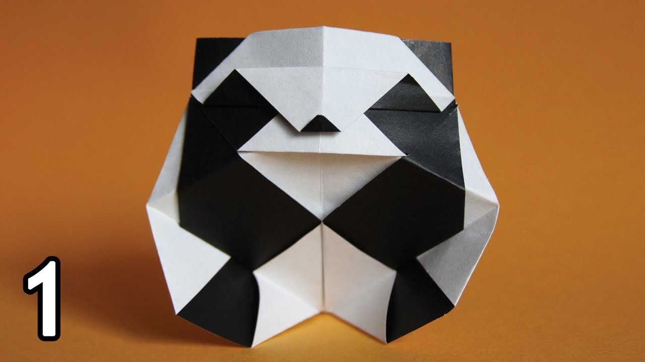 Origami Panda (Román Díaz)