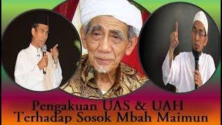 Video Pengakuan Ust. Abdu Somad & Adi Hidayat Terhadap Sosok Mbah Maimun MP3, 3GP, MP4, WEBM, AVI, FLV Maret 2019