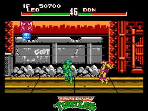 teenage mutant ninja turtles tournament fighters nes online