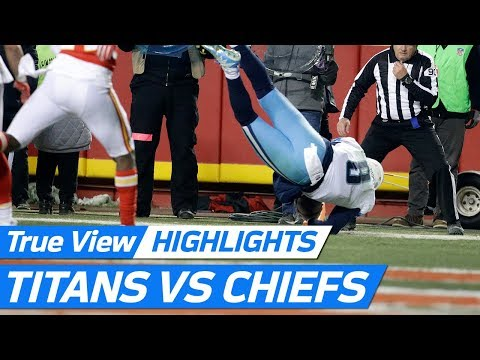 Video: Top freeD Plays from Titans vs. Chiefs (Wild Card Weekend) | NFL