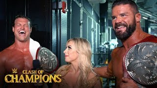 Dolph Ziggler & Robert Roode celebrate championship coronation: WWE Exclusive, Sept. 15, 2019