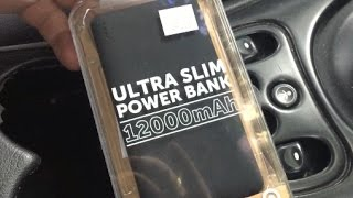 Need extra recharge on your devices? Look no further, the Ultra slim power battery bank will fulfill your needs. This Portable battery is 1200mAh, which is more than enough to charge your smart phone or iPad many times over! Its light, its very low priced and its a Target brand, so you know it is warranty and refund guaranteed.  If your looking for a light weight slim portable battery, look no further, the Target Ultra Slim Power Bank 1200mAh can't be beat for price and quality.http://stuff-you-should-buy.blogspot.comhttps://twitter.com/HarrysTechhttp://www.facebook.com/HarrysTechhttp://google.com/+stuffyoushouldbuy