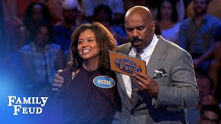 Video Wanna win Fast Money? CALL NICOLE | Family Feud MP3, 3GP, MP4, WEBM, AVI, FLV Maret 2019