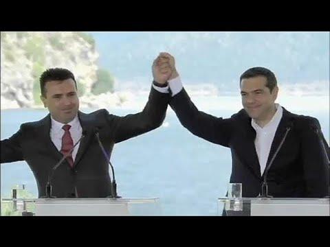 Ευρωπαίοι Σοσιαλιστές: Εκστρατεία υπογραφών υπέρ Τσίπρα- Ζάεφ…