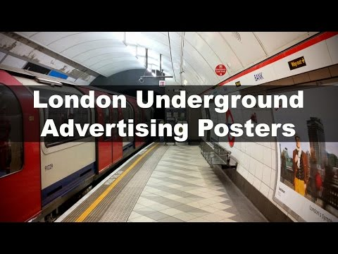 London Underground Advertising Posters