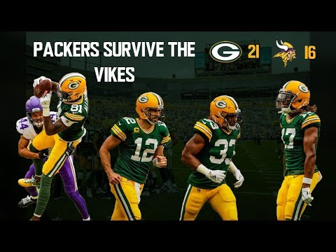 Packers Survive The Vikings