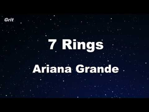 7 Rings - Ariana Grande Karaoke 【No Guide Melody】 Instrumental