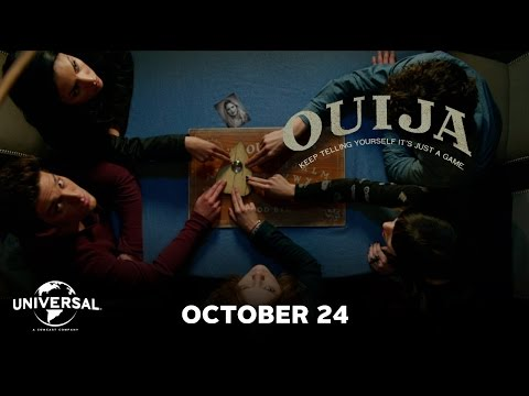 Theaters - Ouija - In Theaters Halloween http://ouijamovie.com/ In Ouija, a group of friends must confront their most terrifying fears when they awaken the dark powers ...