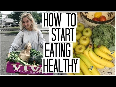 How to Start Eating Healthy | Healthy Eating on a Budget | Detoxing Green Juice Recipe