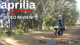 9. 2015 Aprilia Caponord Rally Review
