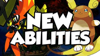 Pokemon Sun and Moon NEW ABILITIES DISCUSSION! by Verlisify