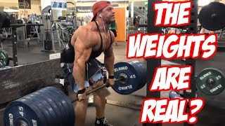 Video Brad Proves The Weights Are Real and Not Fake MP3, 3GP, MP4, WEBM, AVI, FLV November 2018