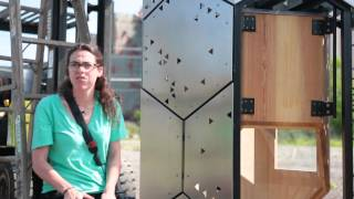 Elevator B: A new home for bees at Silo City