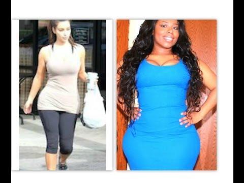 Bigger Hips Naturally To Look Like Kim K ,Nicki M, Beyoncé & Marylin Monroe + Tips & Tricks