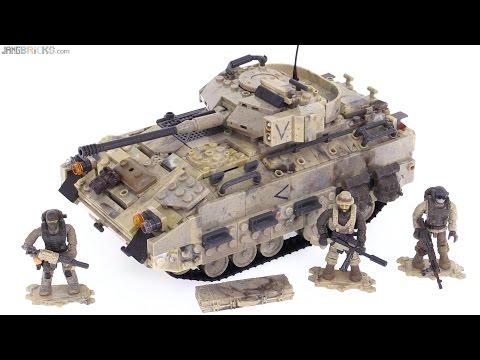 """Mega Bloks Bradley Fighting Vehicle Call of Duty """"Desert Tank"""" review"""