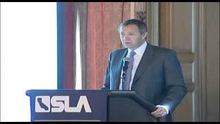 SLA Annual Meeting 2012 Pat Hanley