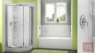 Bath Fitter for the Ultimate Home bathroom makeover in as little as 1 day.