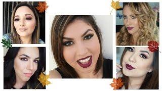 Bellezas! nos hemos reunido de una manera increíble varias bloggers para traerles éstas hermosas propuestas de maquillaje otoñas! si te laten este tipo de colaboraciones recuerda compartir, calificar, comentar y suscribirte!CHECA LOS VIDEOS AQUIGABYTIPS: https://youtu.be/ctN_rVEp24cANDREA FLORES TV: https://youtu.be/scBVYL5AGLUBLONDYLIFE: https://youtu.be/2JNEcUrpTekNANCY IBARRA:  https://youtu.be/97W1VIAFu4E*FACEBOOK: MakillarteYT*INSTAGRAM: @makillarte*TWITTER: @MaKillArteYT*CORREO PARA CONTACTO/BUSSINES INQUIRIES:tanyamaquillarte@gmail.comPRODUCTOS UTILIZADOSlure incredible eyshadow primerjordana 24hr. jumbo eyeshadow - almondbourjois bronzing powder #51h&m eyeshadow single - tourmericbarry m dazzle dust - 72bissu sombra individual - caobatbs down to earth eyeshadow palettelure eyeshadow pencil - brown prosa 4 en 1 delineador negro liquidobissu waterproof liquid liner - gemstoneprosa 4 en 1 rimel profesionallure shocking lips - neon lightslure kiss proof - mother gothel + delineador sweet prune