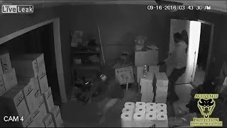 Three Armed Burglars No Match For Armed Homeowner