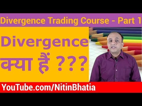 Divergence Trading Course - What is Divergence?   Part 1 (HINDI)