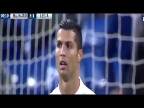 Real Madrid vs Legia 5-1 All Goals EXTENDED Match Highlights 2016