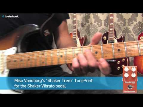 "Mika Vandborg (Electric Guitars) demoes his ""Shaker Trem"" TonePrint"