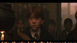 HARRY POTTER AND THE PHILOSOPHERS STONE CUT SCENE 2 SNAPE POTIONS CLASS EXTENDED