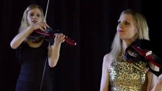 Dueling Electric Violinist(s)