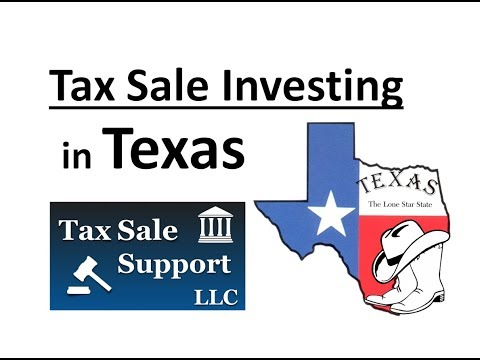 Texas Tax Sale investing – Online tax sale lists and struck off property