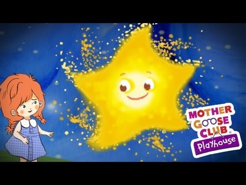 Twinkle Twinkle Little Star Animated - Mother Goose Club Nursery Rhymes