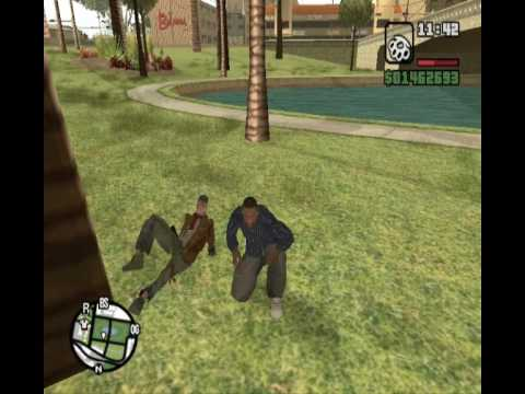 GTA San Andreas - Operacion Bloopers - parte 4